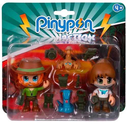 Pinypon Action Wild Pack 2 Figuras