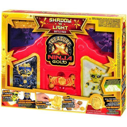 Treasure X Ninja Gold Serie 6 Pack Batalla