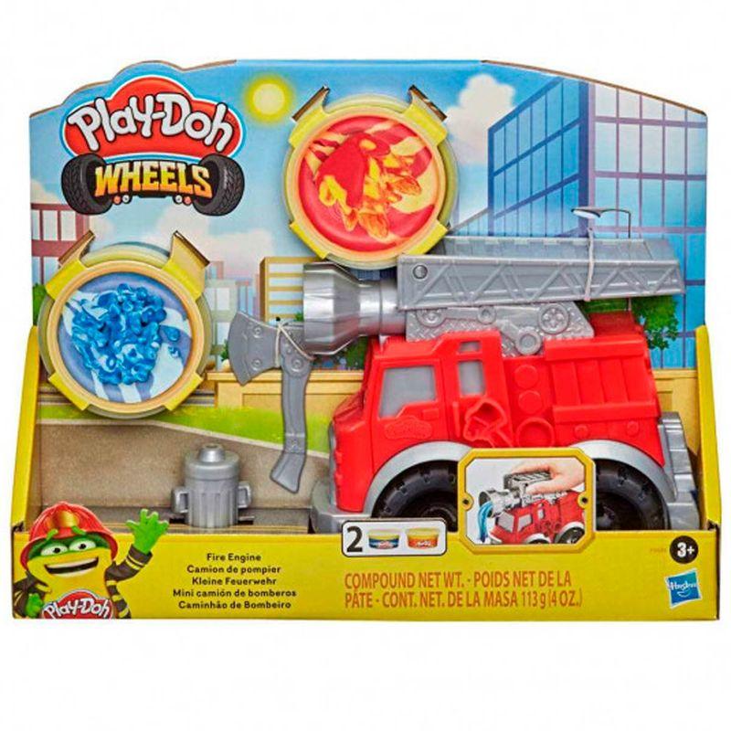 Play-Doh-Mini-Camion-de-Bomberos