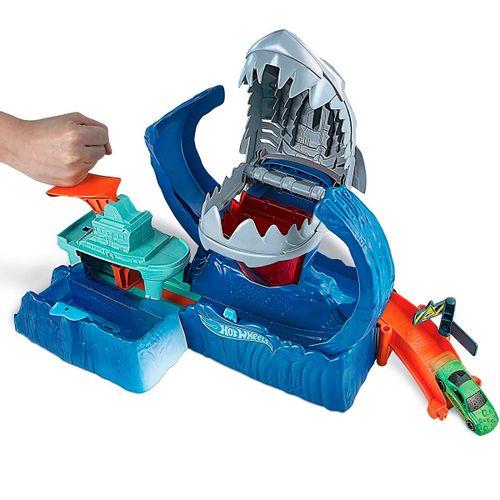 Hot Wheels Pista Robo Shark Frenético