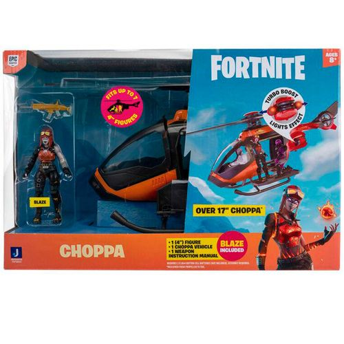 Fortnite Pack Helicóptero The Choppa + Figura