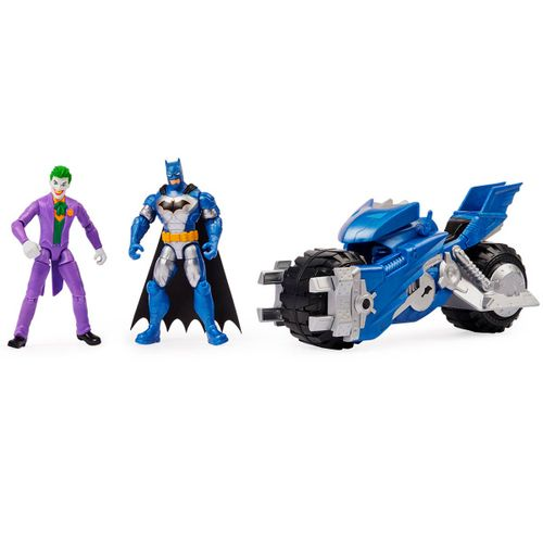Batman Bat-Tech Batmoto + Figuras