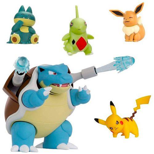 Pokémon Pack 5 Figuras de Combate