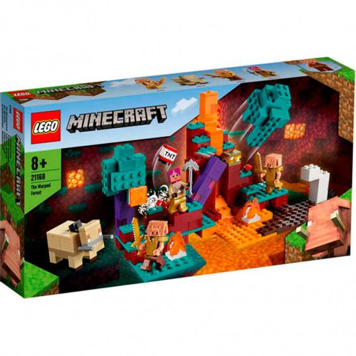 Lego Minecraft El Bosque Deformado