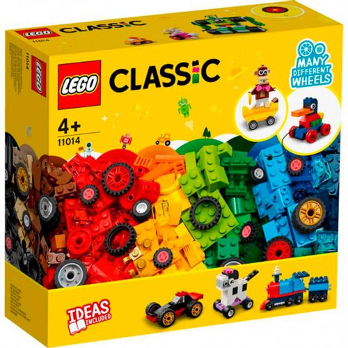 Lego Classic Ladrillos y Ruedas