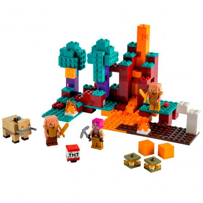 Lego-Minecraft-El-Bosque-Deformado_1