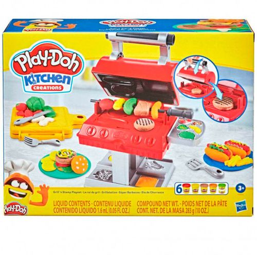 Play-Doh Kitchen Creations Súper Barbacoa