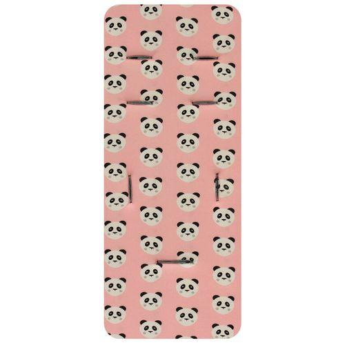 Colchoneta Viscoelástica y algodón Pandas rosa