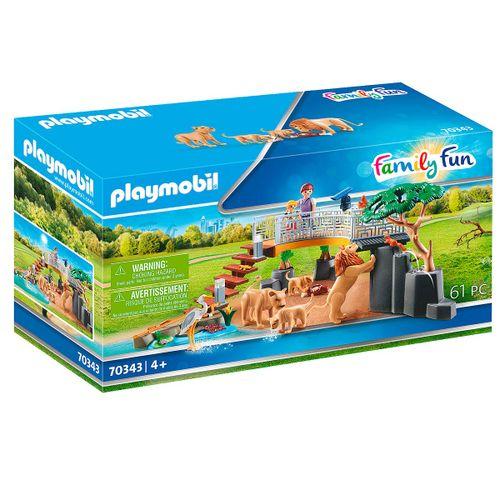 Playmobil Family Fun Recinto Exterior de Leones