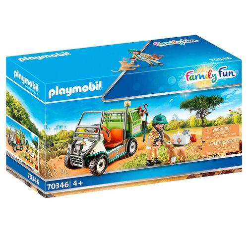 Playmobil Family Fun Veterinario de Zoo con Coche