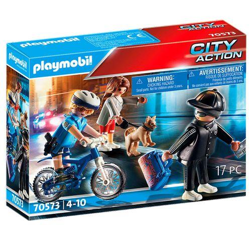 Playmobil City Action Bici Policial