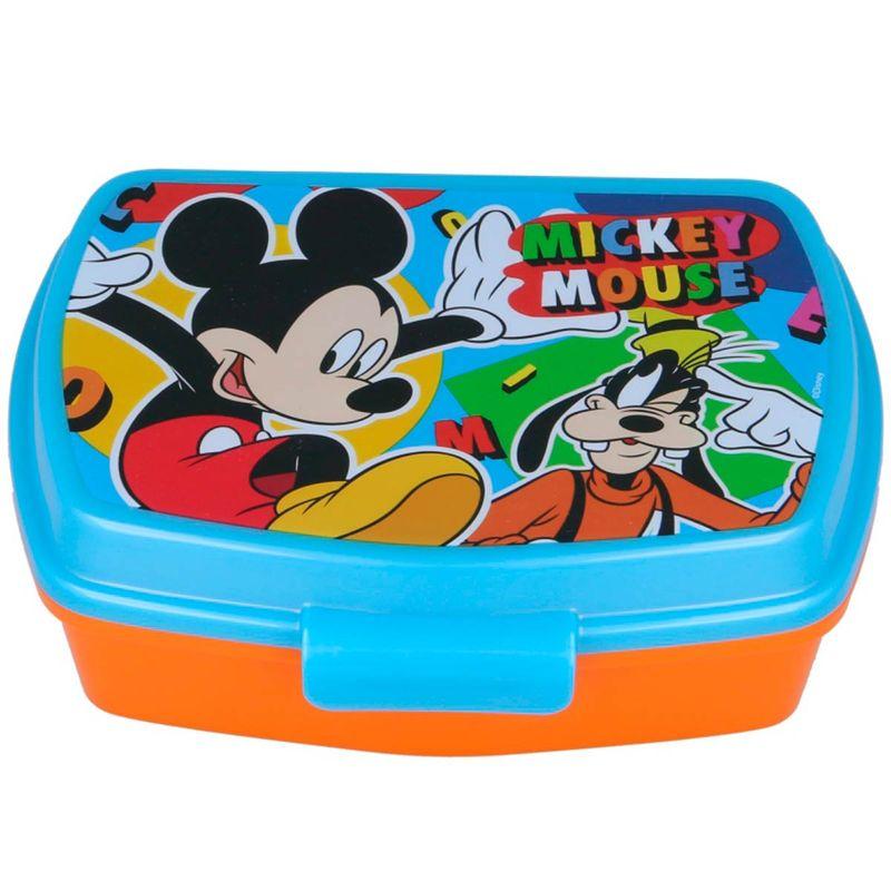Mickey-Mouse-Sandwichera-Rectangular