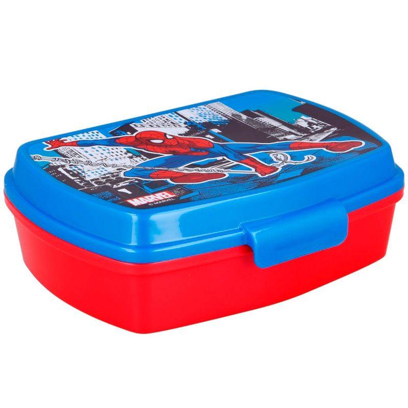 Spiderman-Sandwichera-Rectangular