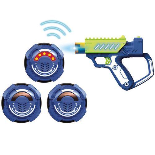 Lazer MAD Pistola con Objetivos