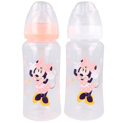 Minnie Mouse Pack 2 Biberones 360 ml