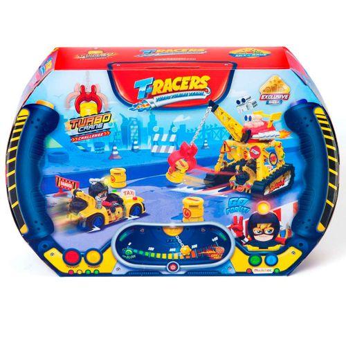 T-Racers Playset Turbo Crane Challenge