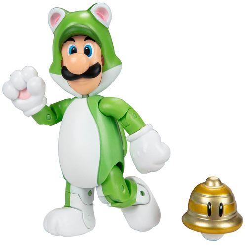 Super Mario Figura Luigi Gato