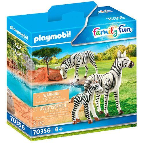 Playmobil Family Fun Cebras con Bebé