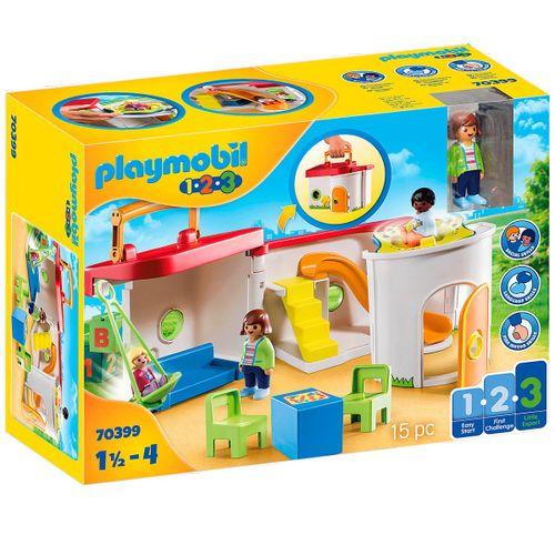 Playmobil 1.2.3 Guardería Maletín