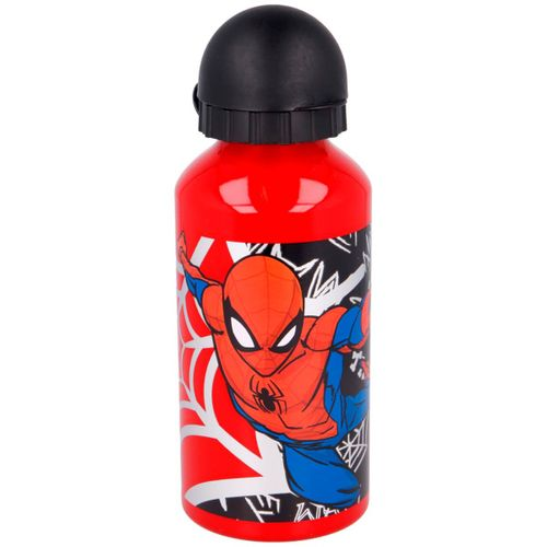 Spiderman Botella Aluminio 400 ml