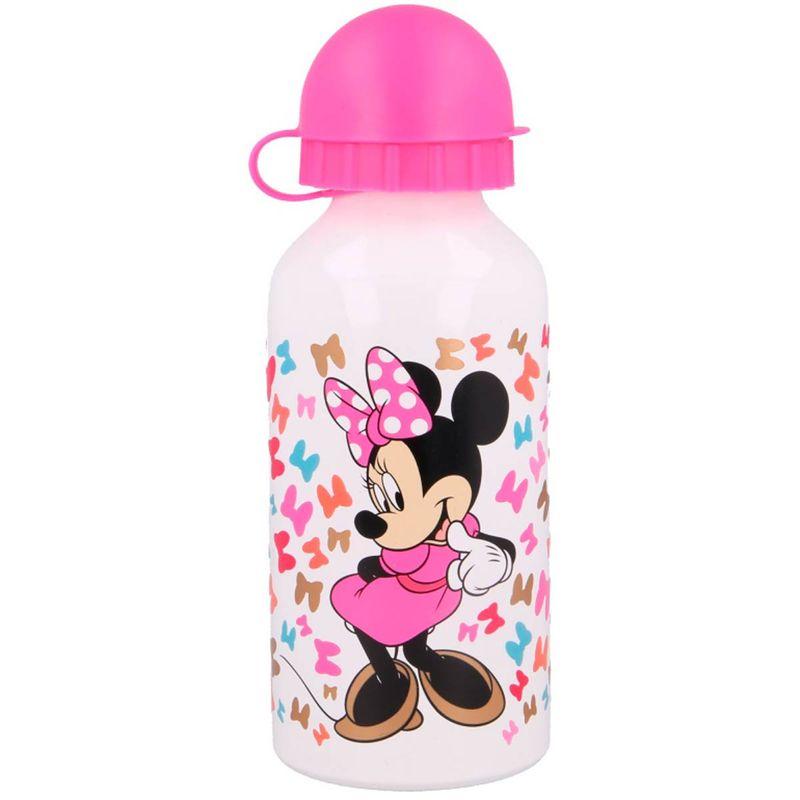 Minnie-Mouse-Botella-Aluminio-400-ml