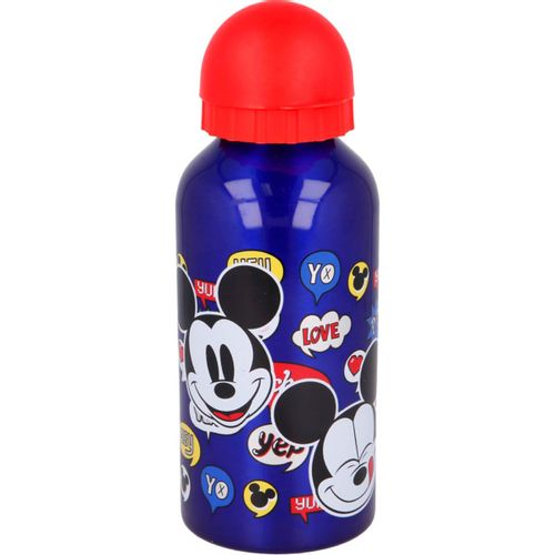 Mickey Mouse Botella Aluminio 400 ml