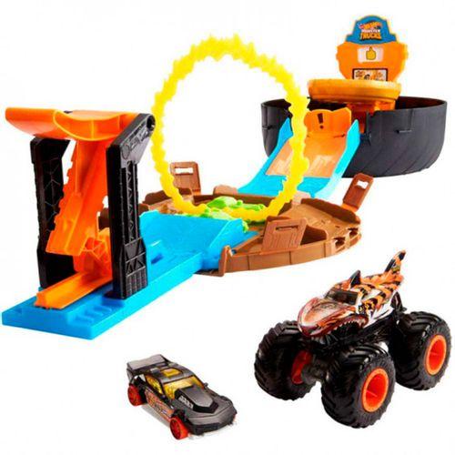 Hot Wheels Monster Truck Rueda Acrobática
