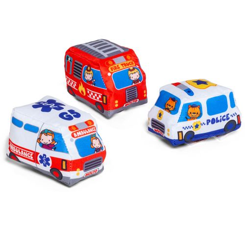 Pack 3 Coches Blanditos