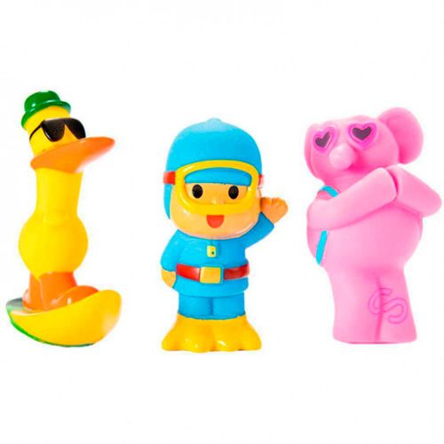 Al Agua con Pocoyó Pack 3 Figuras Baño
