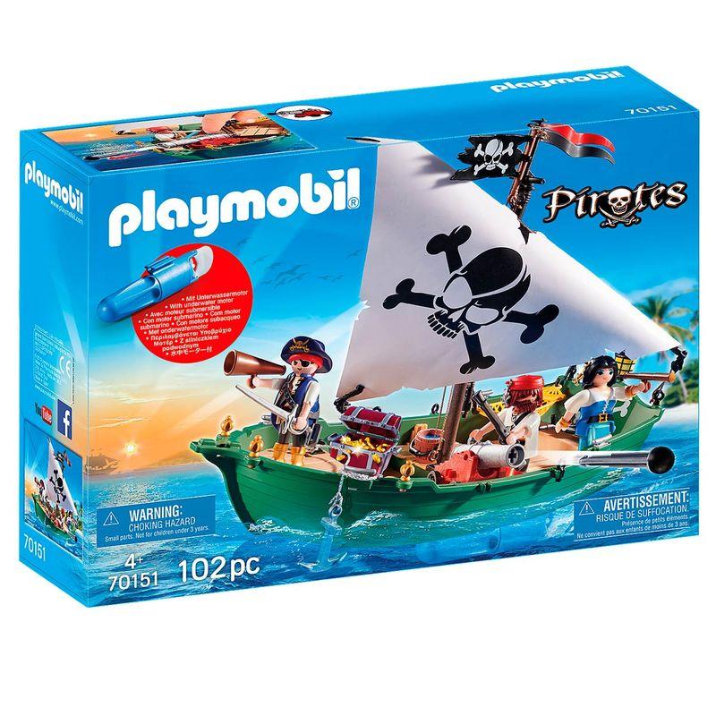 Playmobil-Pirates-Barco-Pirata-con-Motor-Submarino