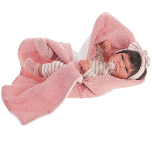 Muñeca Recién Nacida Baby Toneta Manta