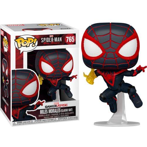 Funko POP Spider-Man Miles Morales Traje Clásico