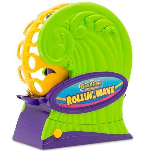 Rollin Wave Máquina Pompas Giratoria