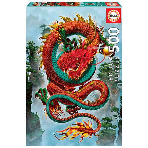 Dragón de la Fortuna Puzzle 500 Piezas