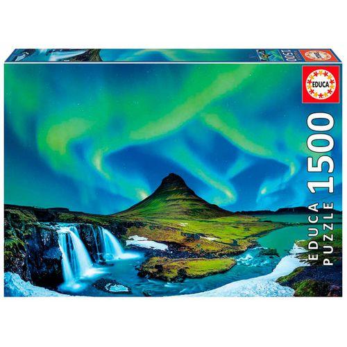 Aurora Boreal Islandia Puzzle 1500 Piezas