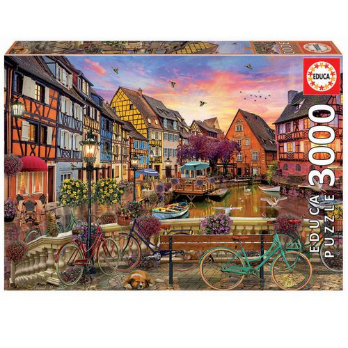 Colmar Francia Puzzle 3000 Piezas