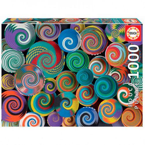 Puzzle Cestas Africanas 1000 Piezas
