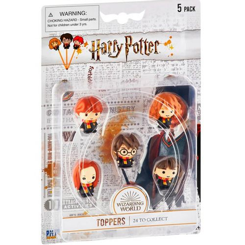 Harry Potter Pack 5 Toppers Surtido