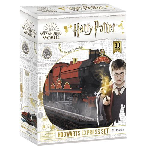 Harry Potter Puzzle 3D Expreso Hogwarts