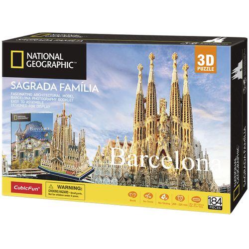 Puzzle 3D Sagrada Família