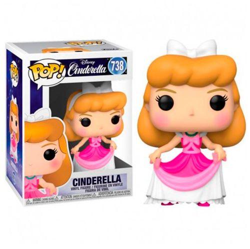 Funko POP Cenicienta Vestido Rosa
