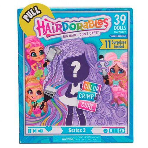 Hairdorables Serie 3 Muñeca Sorpresa