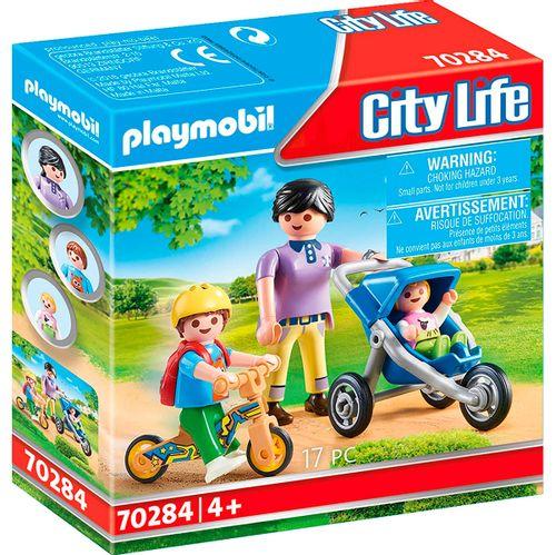 Playmobil City Life Mamá con Niños