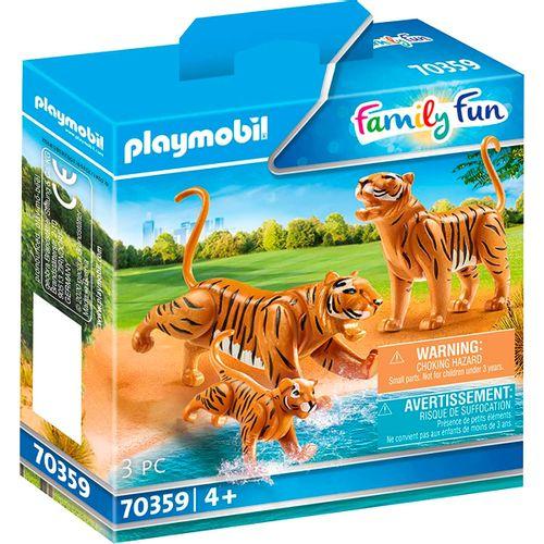 Playmobil City Life Tigres con Bebé