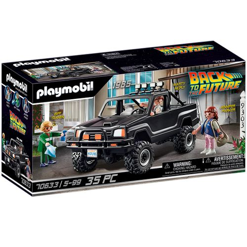 Playmobil Back to the Future Camioneta Marty