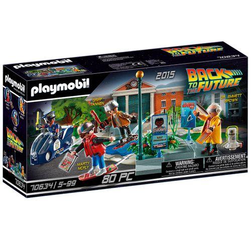 Playmobil Back to the Future Parte II Persecución