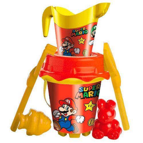 Super Mario Conjunto de Playa + Regadera
