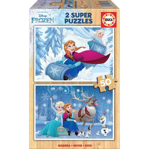 Frozen Puzzle 2x50 Piezas