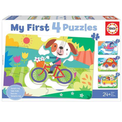 Mi Primer Puzzle Vehículos