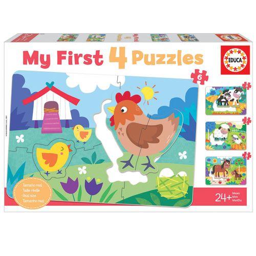 Mi Primer Puzzle Mamás y Bebés